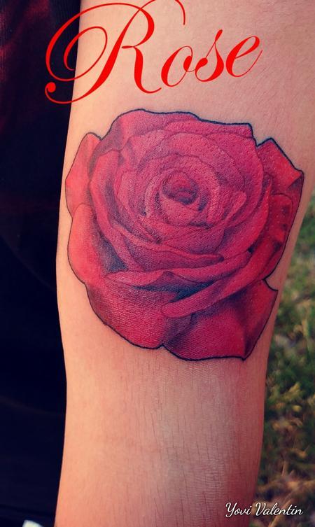Yovanier Valentin - Rose Tattoo