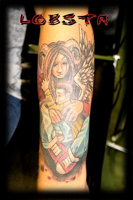 Tattoos - Original Artwork by Lobsta - 129519