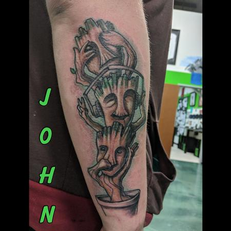 Tattoos - See_Hear_SpeakNoEvil_BabyGroot_byJohn - 133014