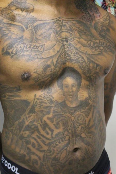 Tattoos - Torso Piece - 128163