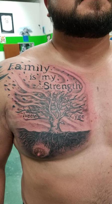 Mario Padilla - Family is my Strength