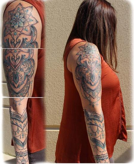 Tattoos - Ornamental sleeve - 125087
