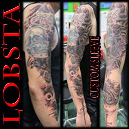 Tattoos - Lobsta Sleeve - 130937