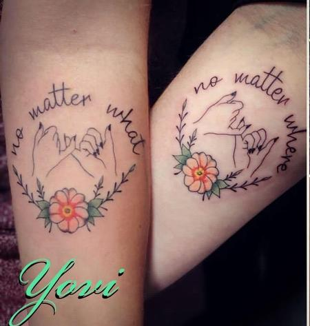 Yovanier Valentin - Matching Mother/Daughter Tattoos