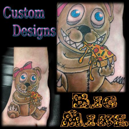 Tattoos - Pizza Bear! - 131880