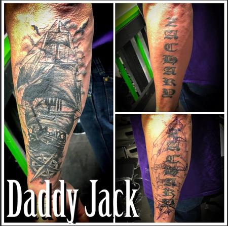 Daddy Jack - Ship Cover Up