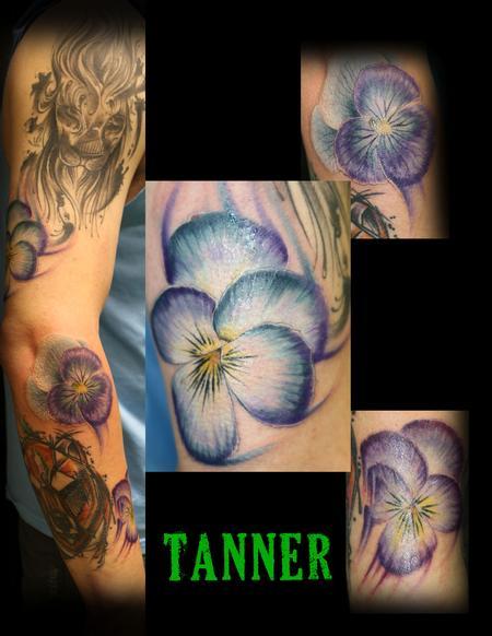 Tattoos - floral_tattoo_tanner - 128349