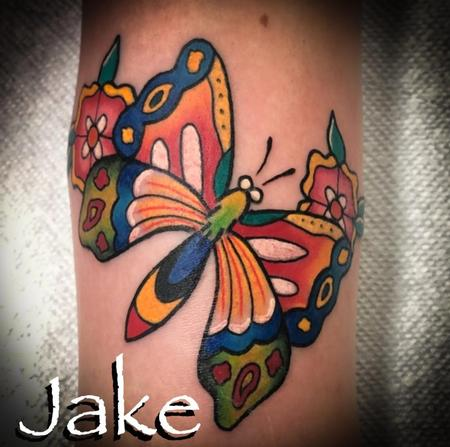 Tattoos - Traditional Butterfly - 139002