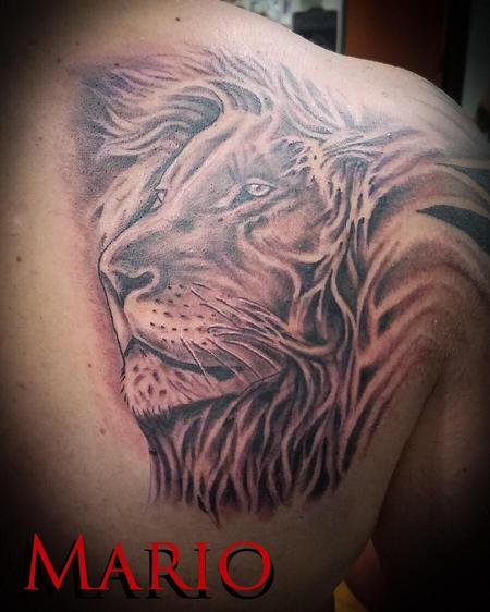 Tattoos - Lion - 137771