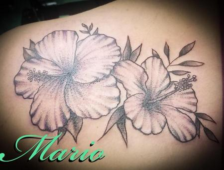 Tattoos - Hibiscus Flowers - 137772