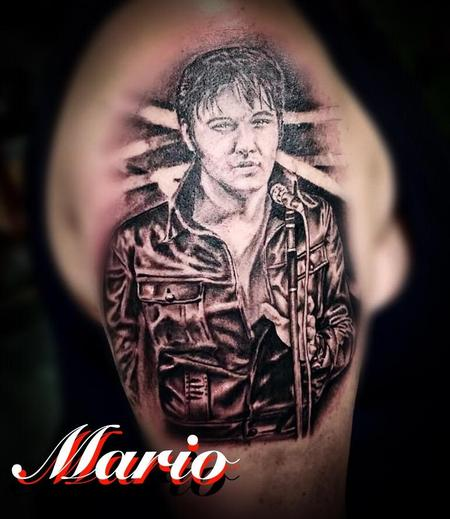 Tattoos - Elvis Portrait - 138516