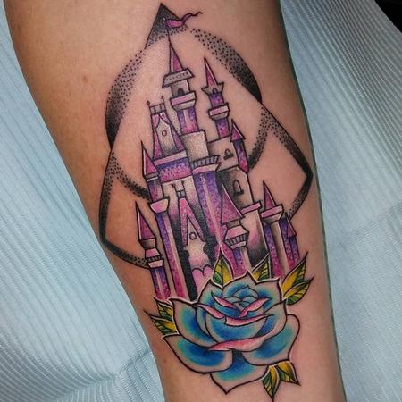 Tattoos - Princess Castle Original Design - 126505