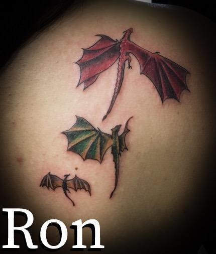 Tattoos - Game of Thrones Dragons - 138053