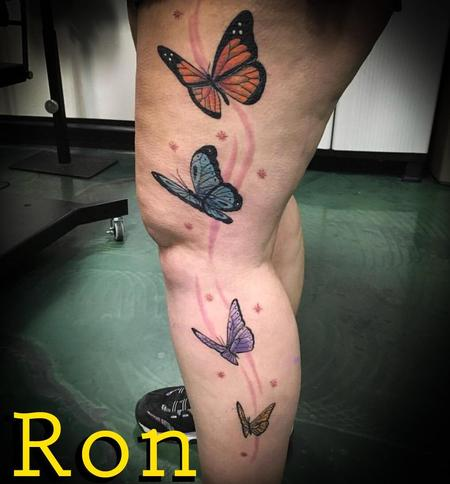 Tattoos - Butterflies - 138528