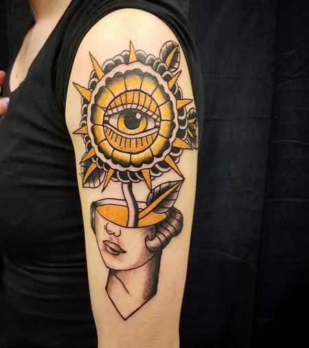 Tattoos - Traditional minds eye - 132518