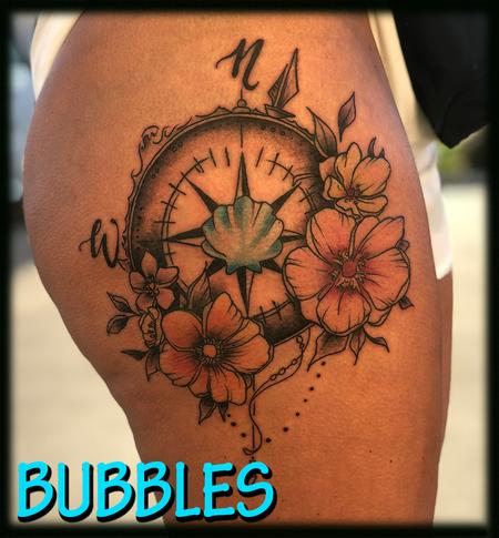 Tattoos - tropical_compassrose_ByBubbles - 132911
