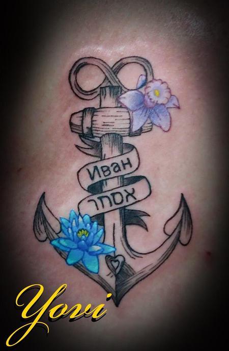 Tattoos - Anchor - 138536