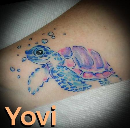 Tattoos - Sea Turtle - 137812