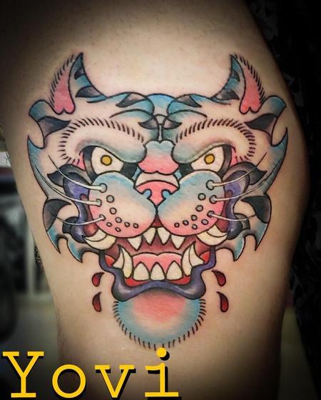 Yovanier Valentin - White Tiger