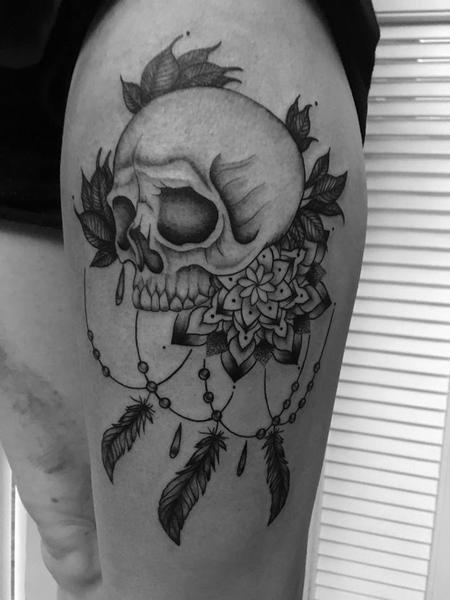 Tattoos - Mandala Skull  - 138280