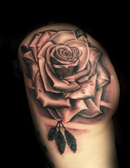 Tattoos - Big Rose - 126667