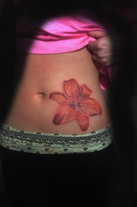 Tattoos - Tiger lily tattoo - 87301