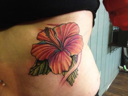 Tattoos - Hibiscus - 87299