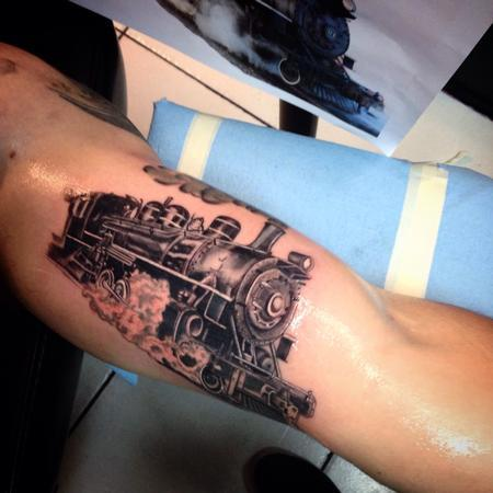 Tattoos - Steam Engine - 119927