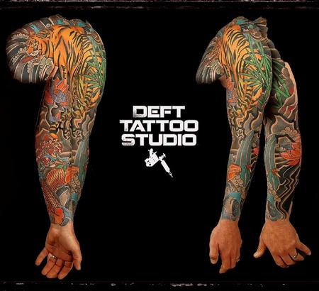Tattoos - Asian sleeve - 117648