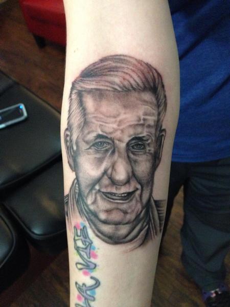Tattoos - Grandfather Portrait  - 126683