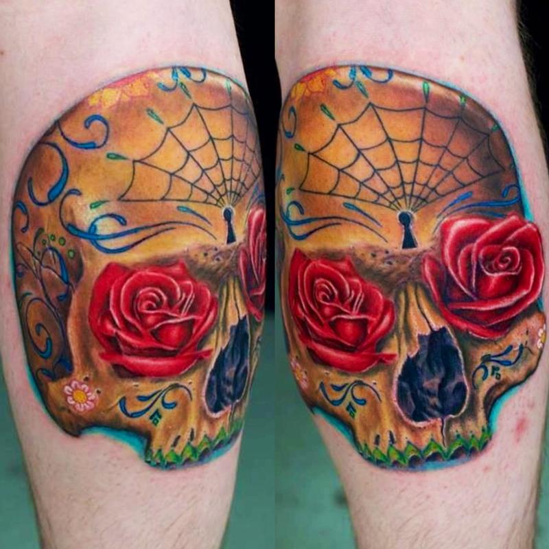 Tattoos - Sugar Skull  - 79797