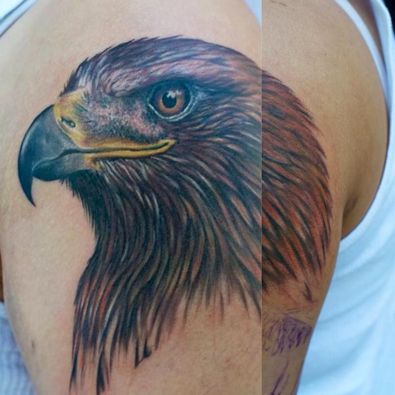 Tattoos - Golden Eagle Aguila  - 77585