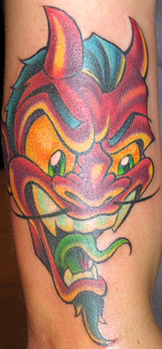 Tattoos - Devil Head - 20950