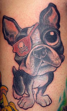 Jime Litwalk - Eye Patch Dog