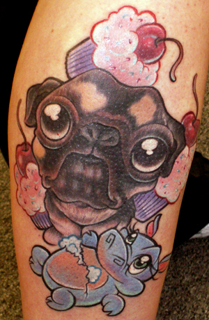 Jime Litwalk - Pug, and Hippo