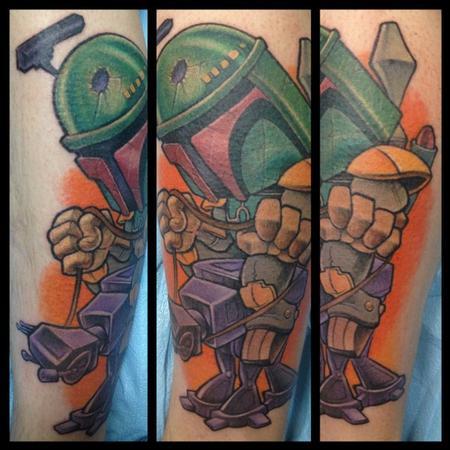 Tattoos - star wars fan - 72902