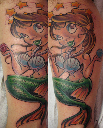 Tattoos - Mermaid - 20960