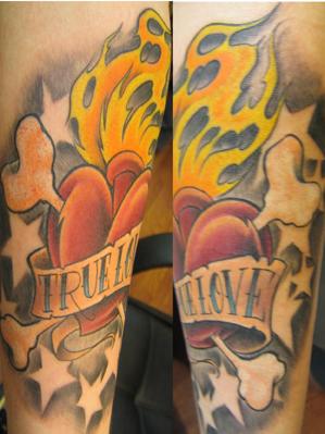 Nice Picture Love on Keyword Galleries  Color Tattoos   New School Tattoos   Custom Tattoos