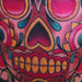 Tattoos - DAY OF DEAD SUGER SKULL - 16154