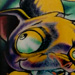 Tattoos - Hanging Bat - 9550