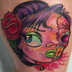 Tattoos - Day, dead head - 20919