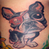 Tattoos - Eye Patch Dog - 20952