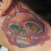 Tattoos - Flaming Skull - 20955