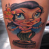 Tattoos - Little Hula - 20958