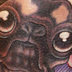 Tattoos - Pug, and Hippo - 20905