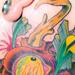 Tattoos - Bloody Deer Neck Piece - 9557