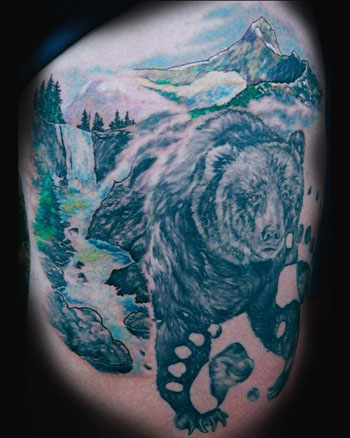 Tattoos - BEAR COUNTRY ! - 23619