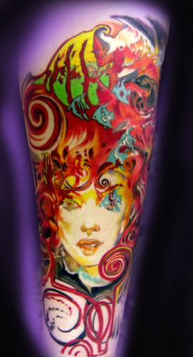 Tattoos - DELLIRIUM FACE FINAL! - 24998