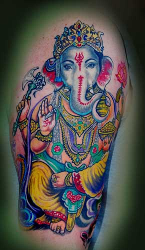 Tattoos - GANESH ! - 27561
