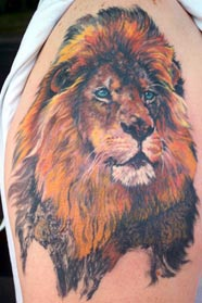 Tattoos - Lion - 15929